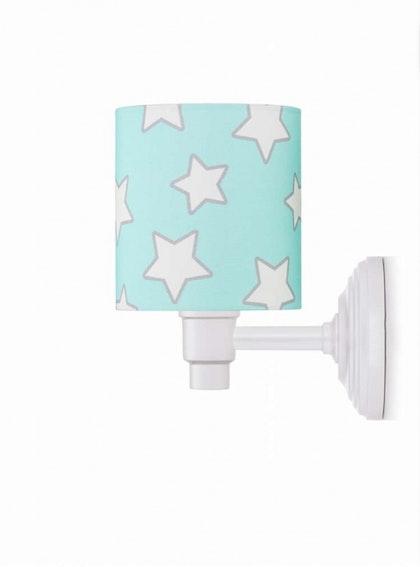 Vägglampa mint stars