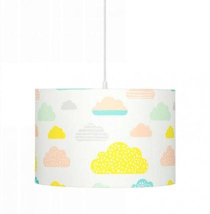 Taklampa pastel clouds
