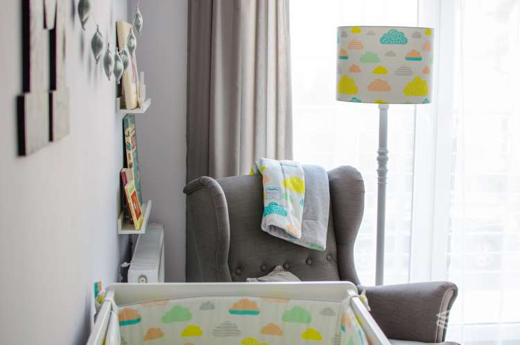 Barnfilt,babypled, lekmata 80x100 pastel raindrops