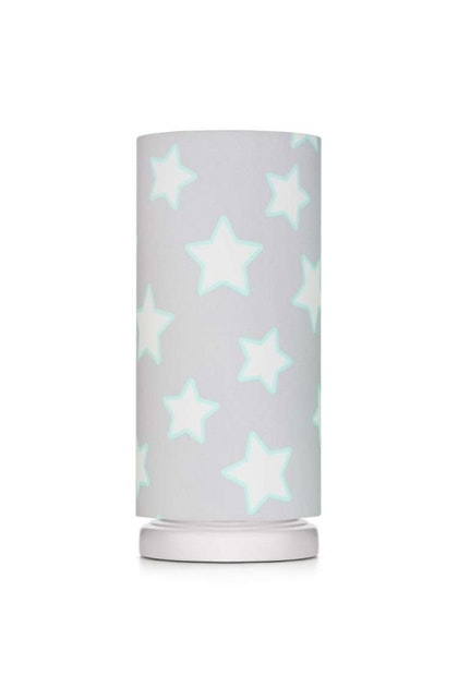 Sänglampa grey stars