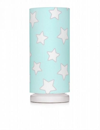 Sänglampa mint stars