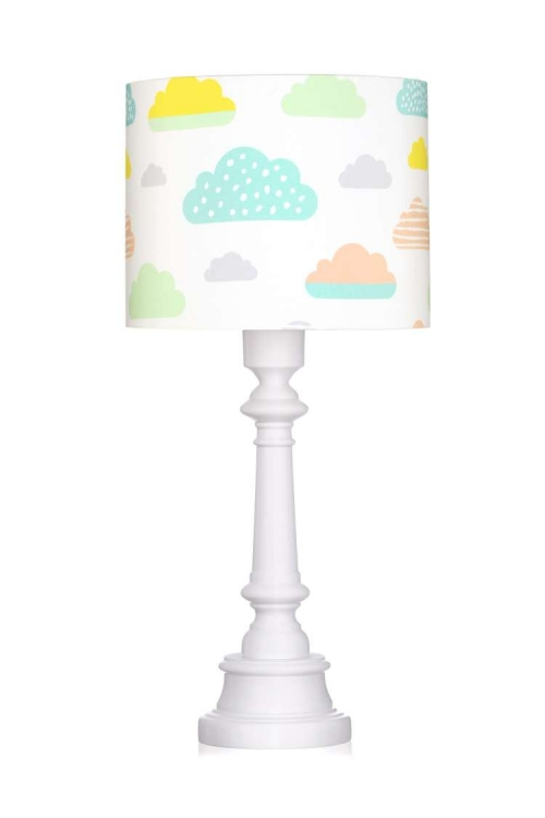 Bordslampa pastel clouds