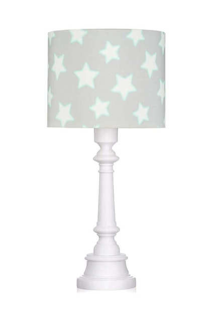 Bordslampa grey stars