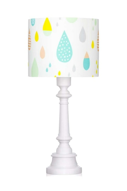 Bordslampa pastel raindrops