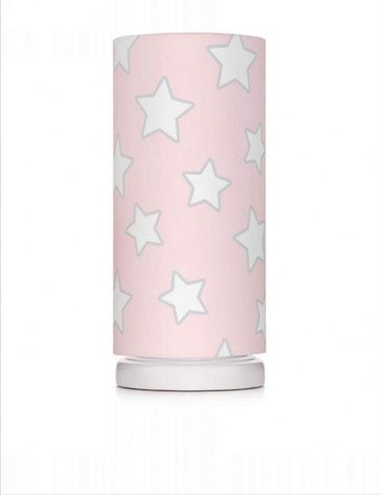 Sänglampa pink stars