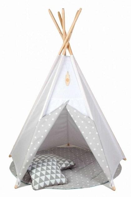 Lektält tipi - stjärnor, little nomad