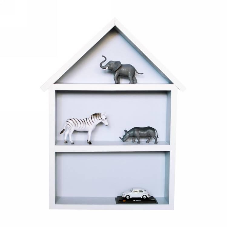 Hushylla grå, XL stor grå hushylla