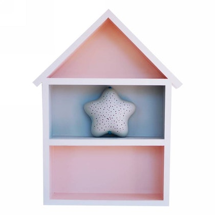 Hushylla rosa&grå, XL