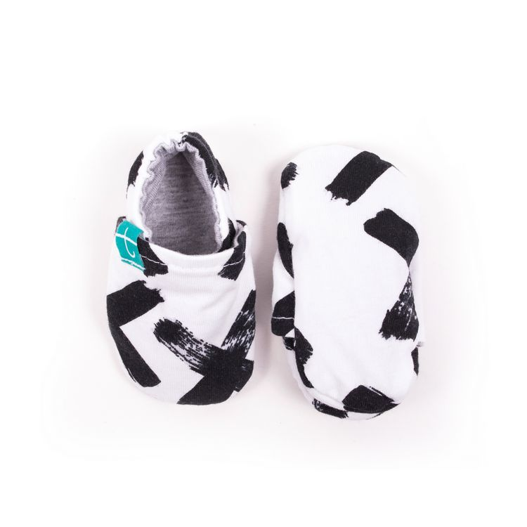 Newborn mockasiner XX organic black