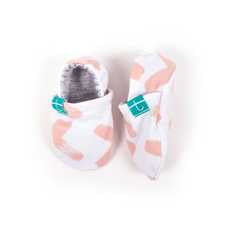 Newborn Mockasiner - XX Organic Rosa