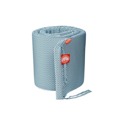 Blå Spjälsängsskydd 180 cm,  Zoopreme straps, Done by Deer