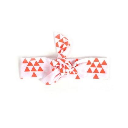Hårband coral triangles