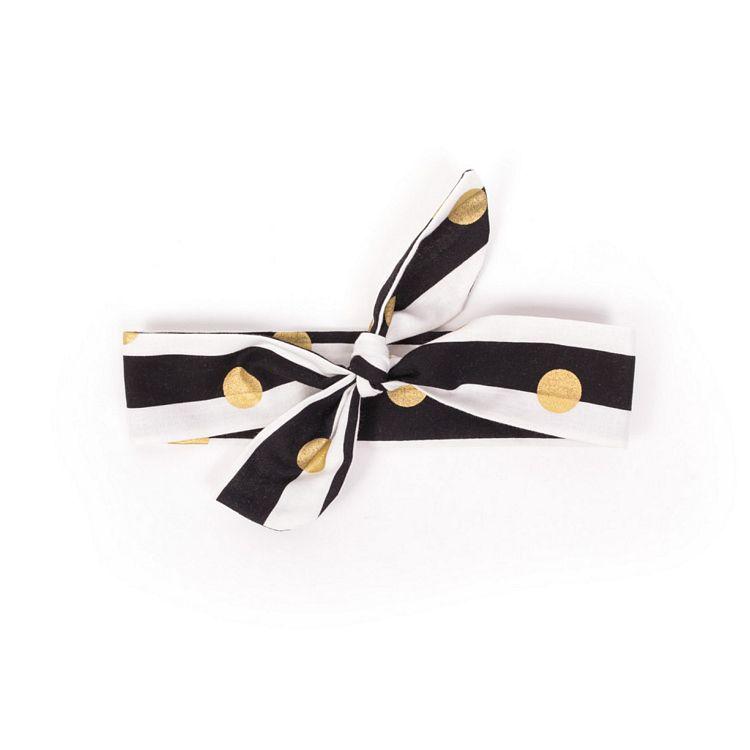 Hårband guld droppar guld droppar hårband