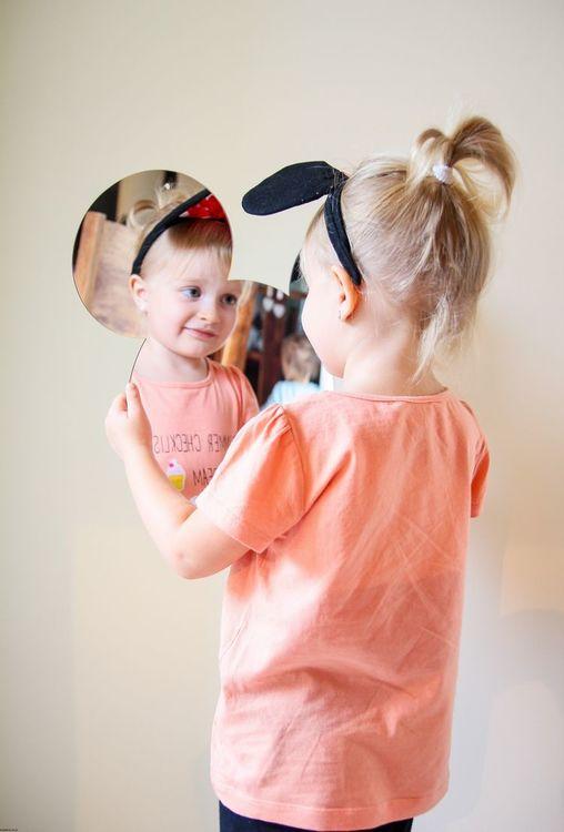 Musse Spegel, Barnspegel till barnrummet Musse Pigg barnrummet