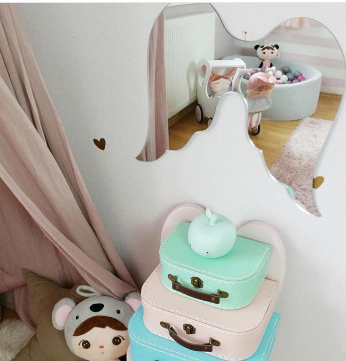 Spegel Änglavingar till barnrummet Spegel Änglavingar till barnrummet
