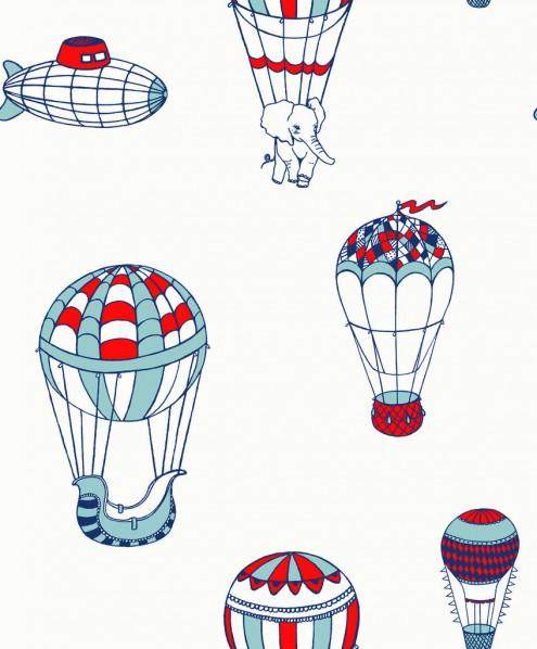 Tapet Flügger Färg - ballonger