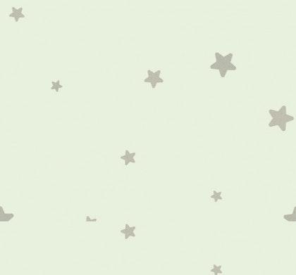 Tapet Flügger Färg Classic stjärnor mint