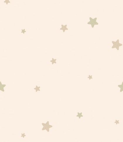 Tapet Flügger Färg Classic rosa stjärnor