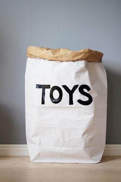 Tellkiddo papperspåse toys