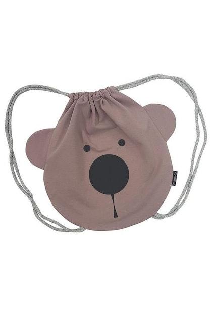 Ryggsäck puderrosa Björn