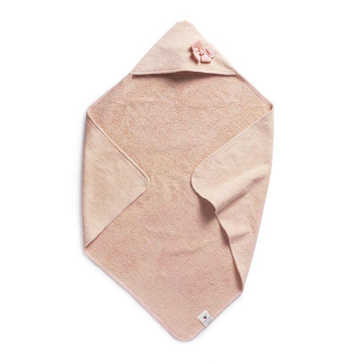 Badcape Powder Pink, Handduk med Huva, Elodie Details Badcape Powder Pink, Handduk med Huva, Elodie Details