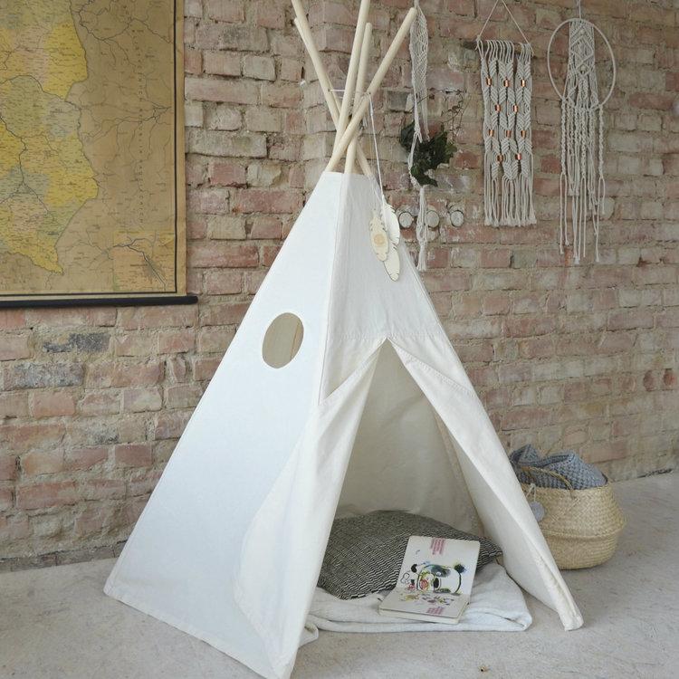 Lektält tipi - beige, little nomad