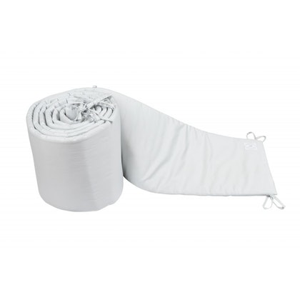 Spjälsängskydd ljusgrå 30x360 cm , Cotton & Sweets