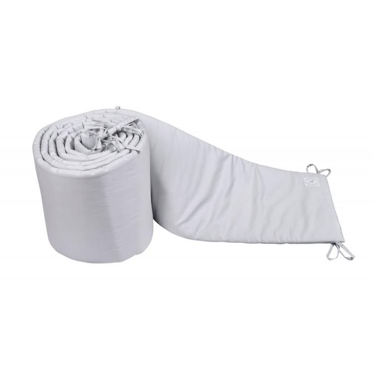 Spjälsängskydd grå 30x360 cm , Cotton & Sweets Spjälsängskydd grå 30x360 cm , Cotton & Sweets