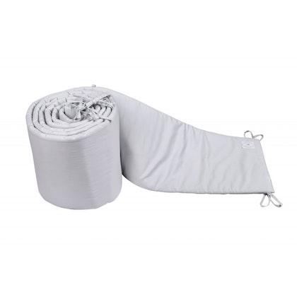 Spjälsängskydd grå 30x360 cm , Cotton & Sweets