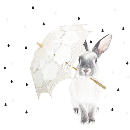 "Väggdekoration, ""Harry in the rain"", Dekornik"