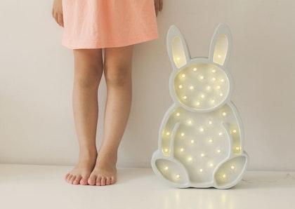 Nattlampa till barnrummet Lampa kanin lampa, Little Lights