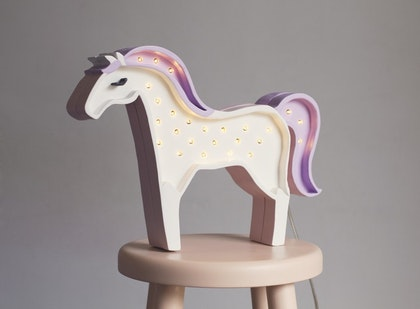Nattlampa till barnrummet Lampa häst lampa, Little Lights
