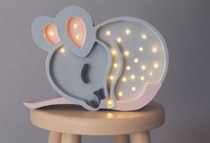 Nattlampa till barnrummet, Lampa mus,Little Lights