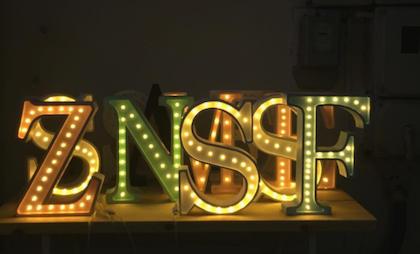 Nattlampa till barnrummet bokstav I - lampa, Little Lights