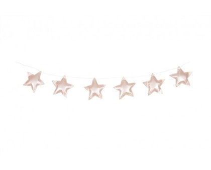 Vimpel rosa stjärnor, Cotton&Sweets