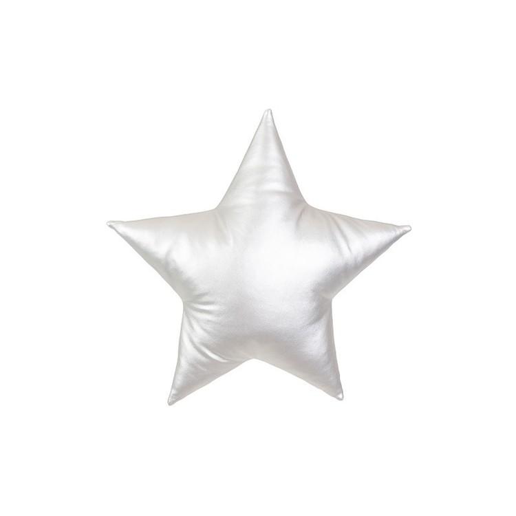 Kudde silver stjärna, Cotton&Sweets