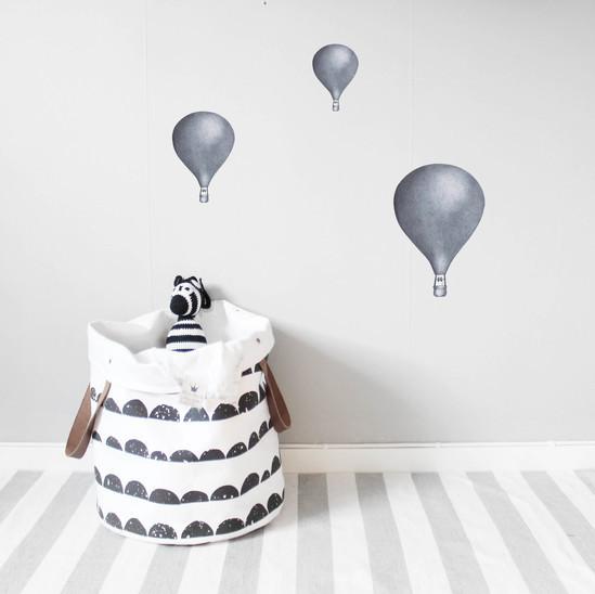 Mörkblå Luftballonger väggklistermärken, Stickstay Mörkblå Luftballonger väggklistermärken, Stickstay