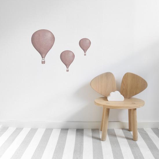 Rosé Luftballonger väggklistermärken, Stickstay Rosé Luftballonger väggklistermärken, Stickstay