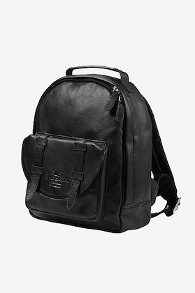 Ryggsäck Back Pack MINI - Black Leather, Elodie Details