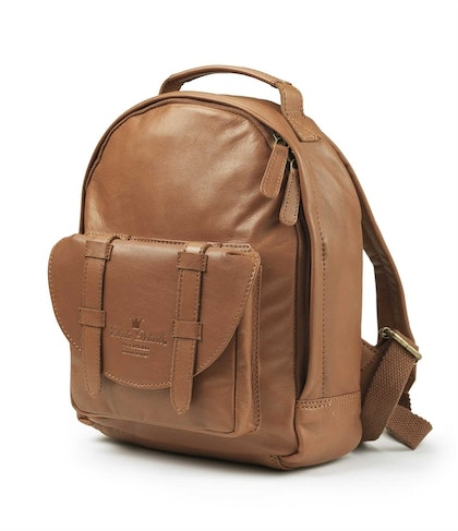 Ryggsäck Back Pack MINI - Chestnut Leather, Elodie Details