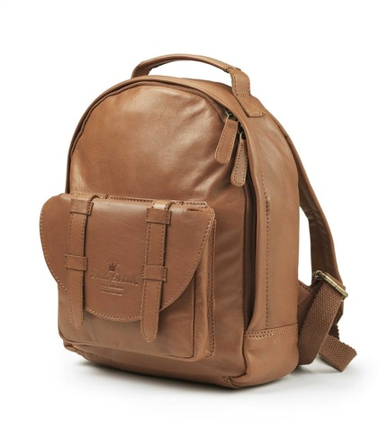 Ryggsäck Back Pack MINI - Chestnut Leather, Elodie Details
