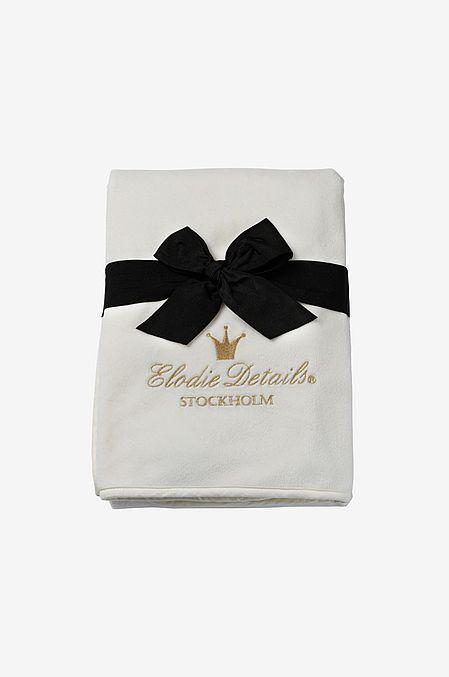 Pärlsammetsfilt - Vanilla White, Elodie Details Pärlsammetsfilt - Vanilla White, Elodie Details