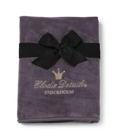 Pärlsammetsfilt - Plum Love, Elodie Details