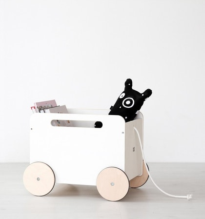 Leksaksförvaring på hjul, Ohh noo