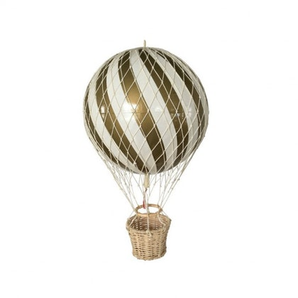 Luftballong Guld, 10 cm, Filibabba