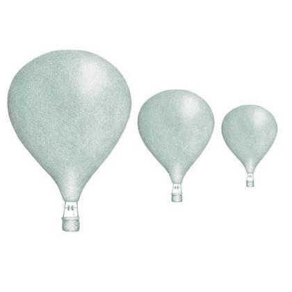 Mint Luftballonger väggklistermärken, Stickstay