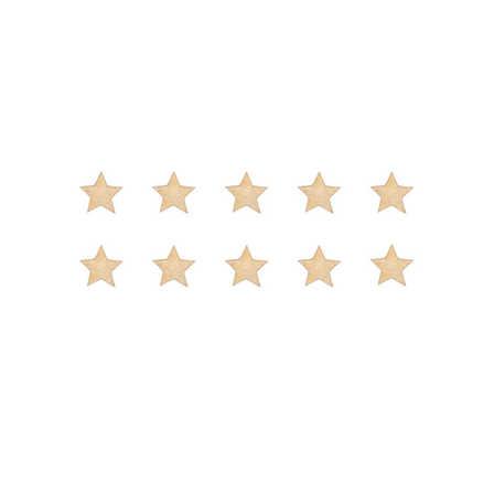 Guld stora stjärnor väggklistermärken, Stickstay