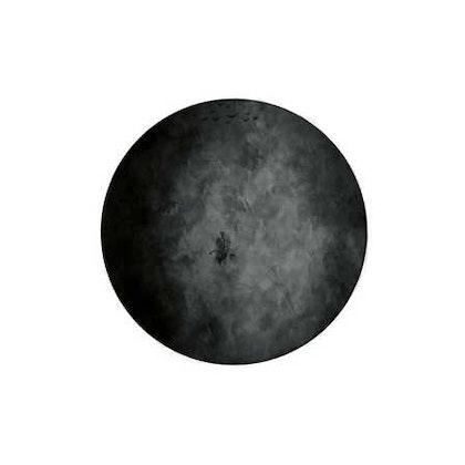 Nästan svart måne väggklistermärken, Stickstay