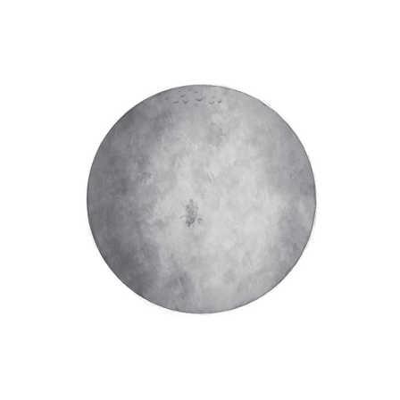 Grå måne väggklistermärken, Stickstay