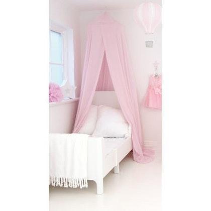 JaBaDaBaDo rosa sänghimmel med ljusslinga (20 ljuskällor)